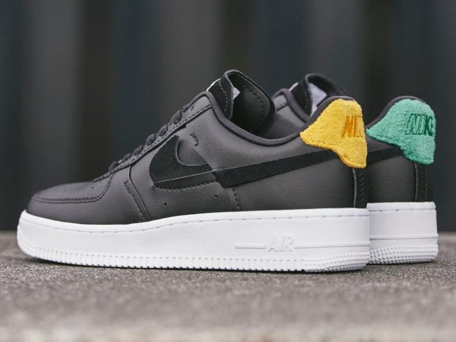 air force 1 noir et vert