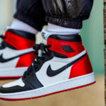 Women's Air Jordan 1 Retro 'Satin Black Toe'