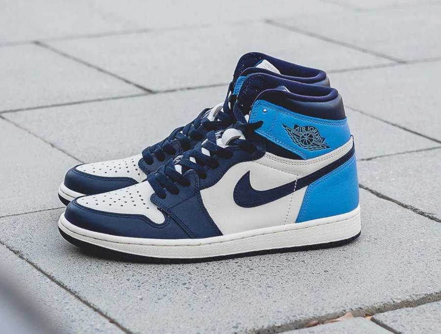 air jordan one bleu marine