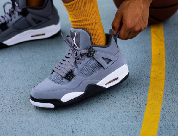 Air Jordan 4 Cool Grey Retro 2019 308497-007
