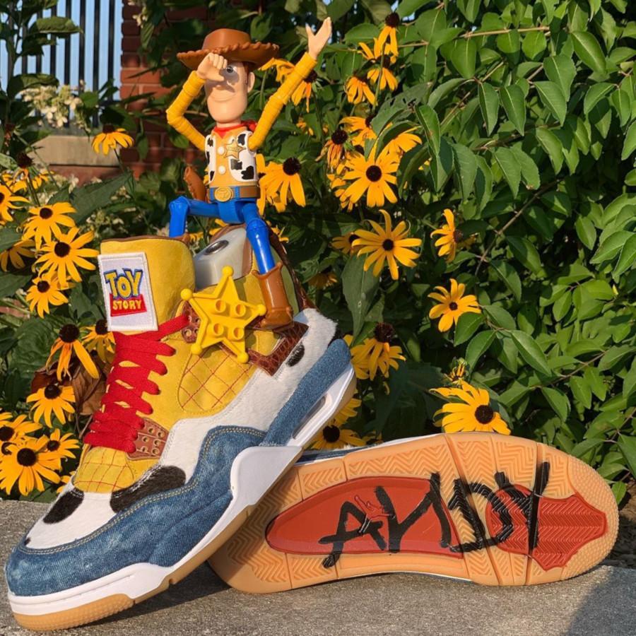 Air Jordan IV Shérif Woody (1-1)