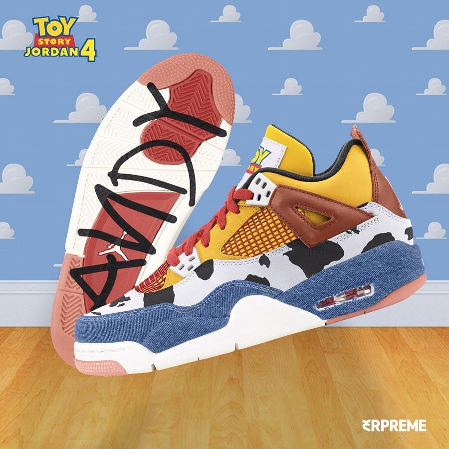 Air Jordan IV Shérif Woody (1)