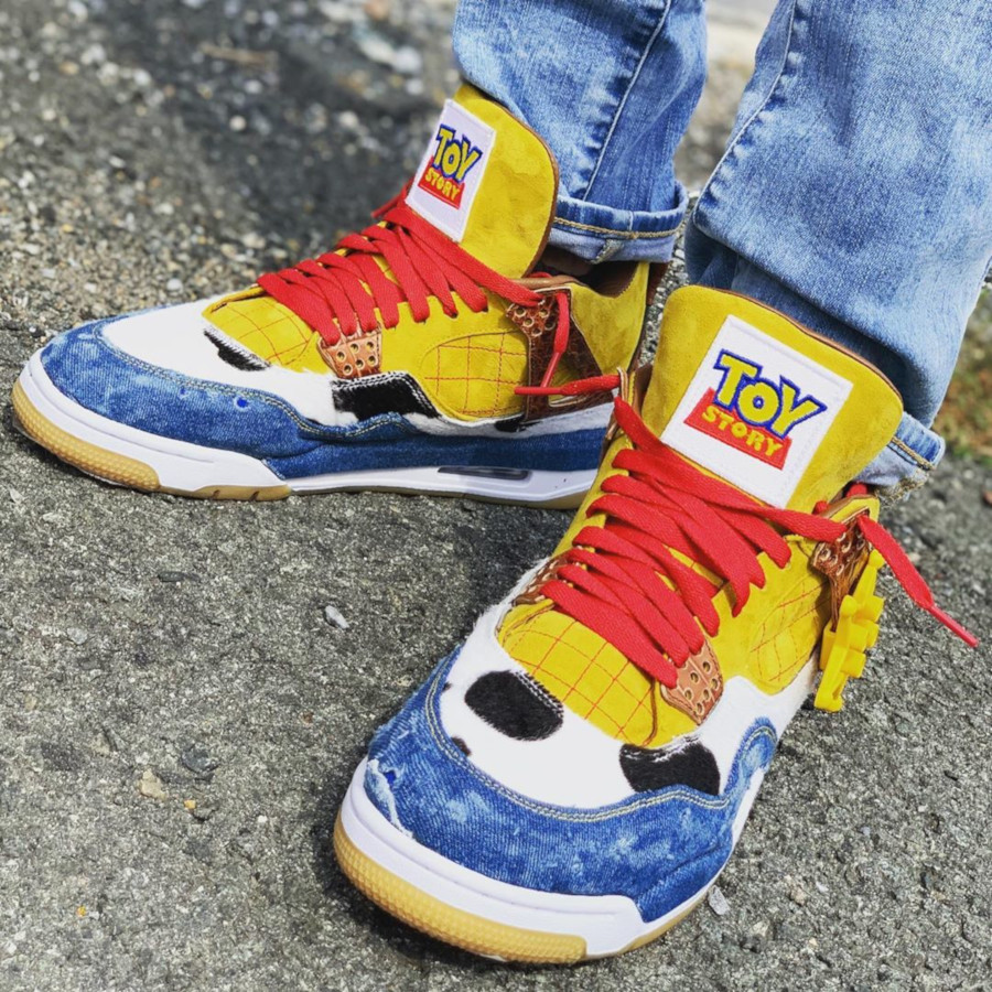 Air Jordan IV Shérif Woody (6)