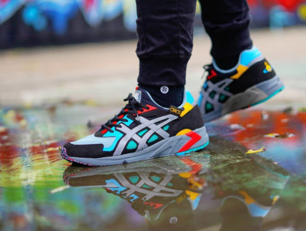 Asics Gel DS Trainer Vivienne Westwood Black Multicolor