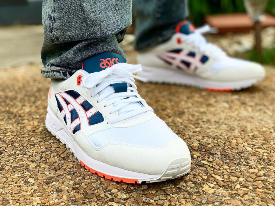 Asics Gel Saga Wgite Flash Coral - @thesoleintention