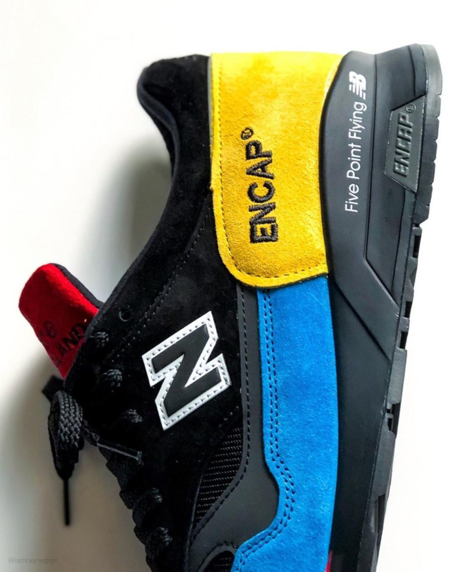 New Balance 1500 noire et multicolore (3)