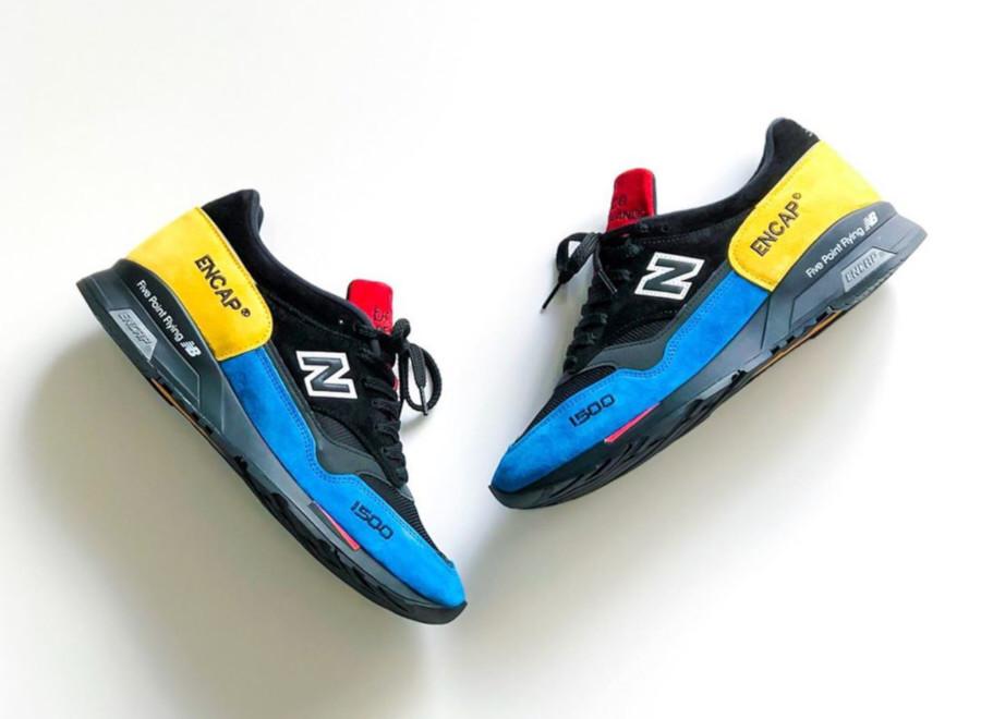 New Balance 1500 noire et multicolore (4)