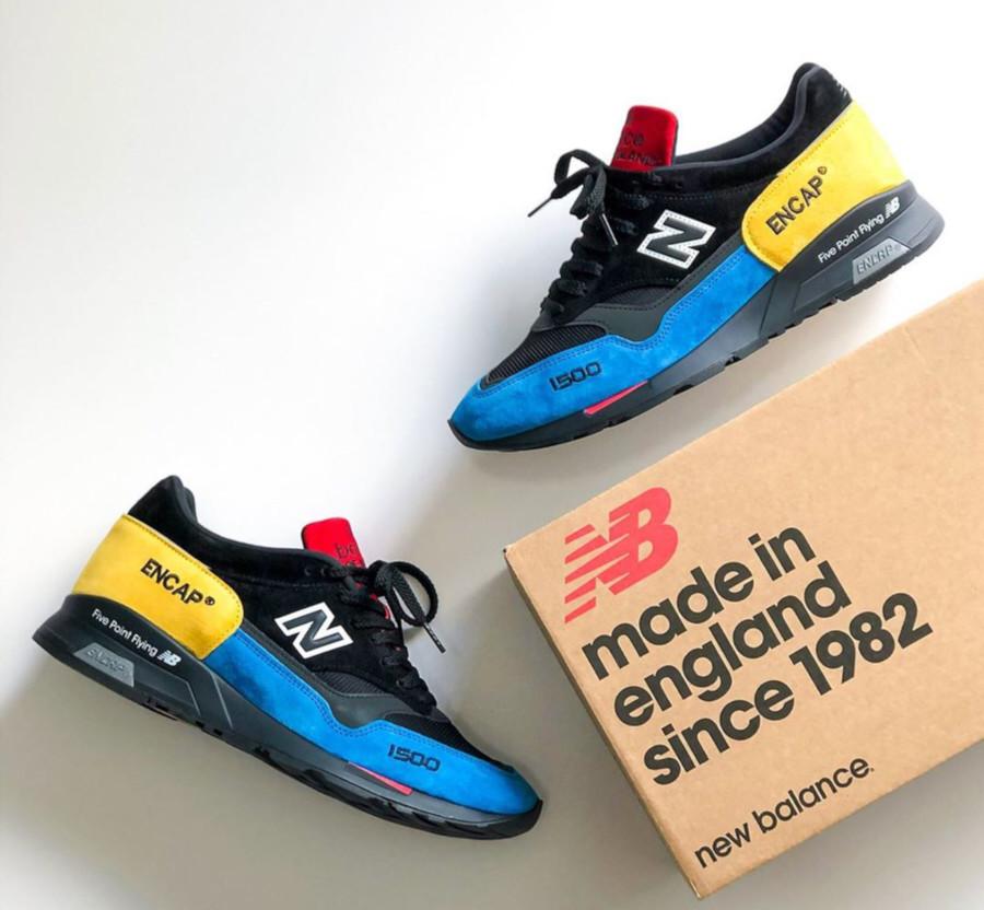 New Balance 1500 noire et multicolore (6)