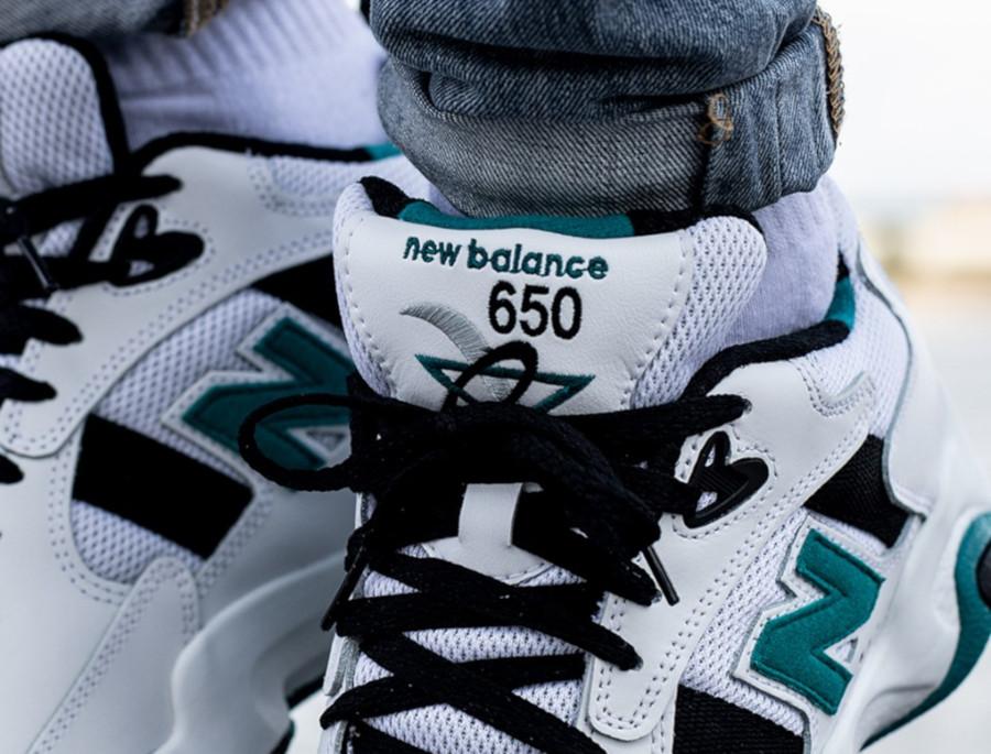 New Balance ML650 blanche noire et verte (1)