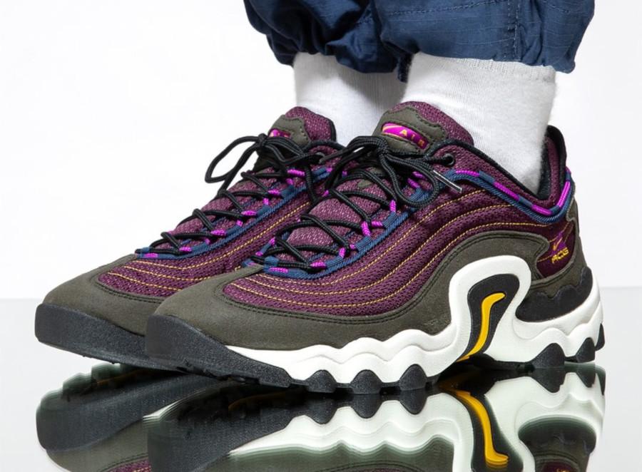 Nike ACG Air Skarn violette et verte (1)
