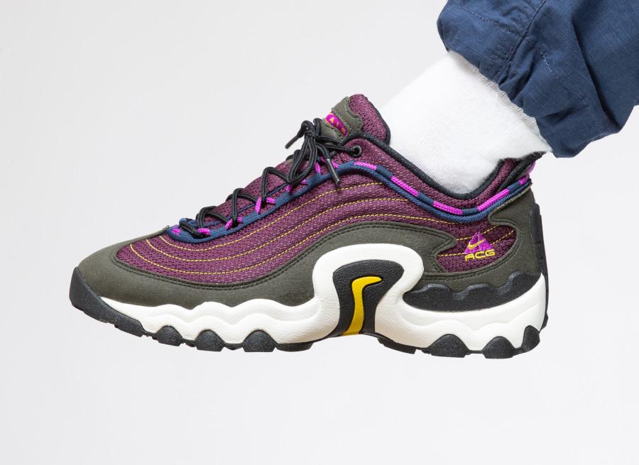 Nike-ACG-Air-Skarn-violette-et-verte-2