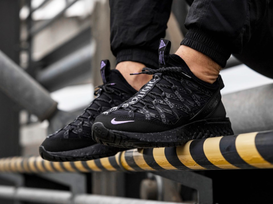 Nike ACG React Terra Gobe Black Purple BV6344 001