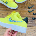 Nike Air Force 1 '07 LV8 Yellow Pulse (Velcro Swoosh Pack)