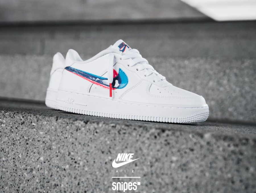air force 1 enfant bleu
