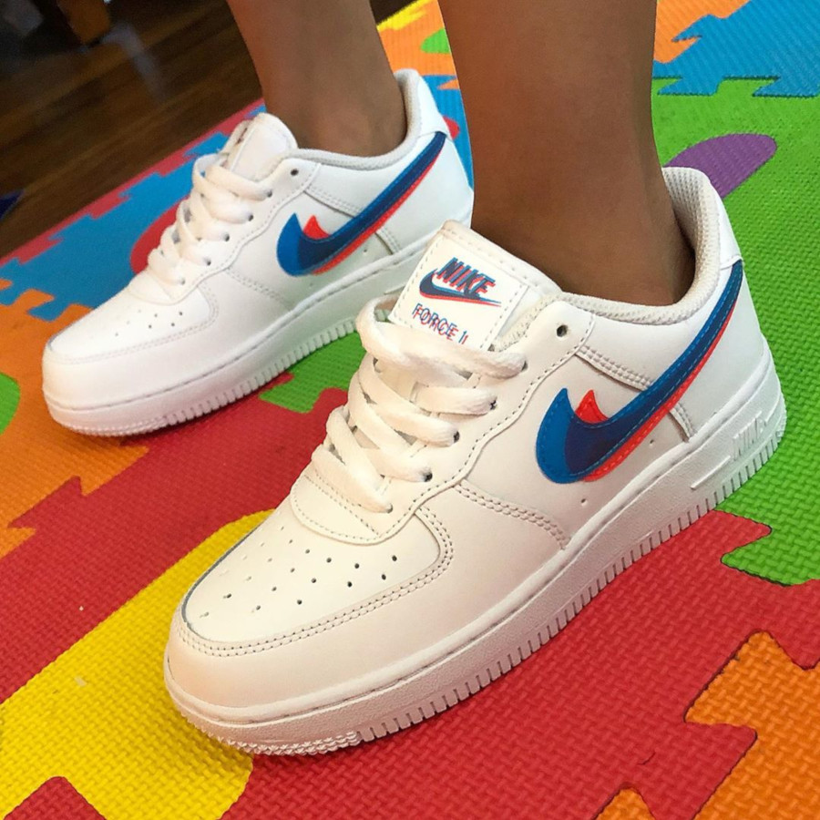 Nike Air Force 1 Low 3D Glasses Swoosh BV2551-100 (2)