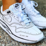Nike Air Max 1 Sketch to Shelf 'White' (Not For Resale)