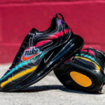 Nike Air Max 720 'Neon Streaks' Black Multicolor (Windbreaker Pack)