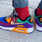 Nike Air Max 90 QS Viotech 'Hyper Grape University Red'
