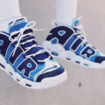Nike Air More Uptempo '96 'Denim' Obsidian Total Orange