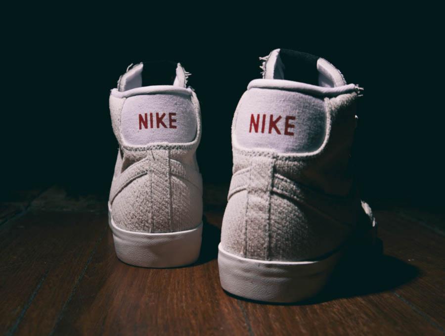 Nike Blazer Mid blanc cassé CJ6102-100 (1)