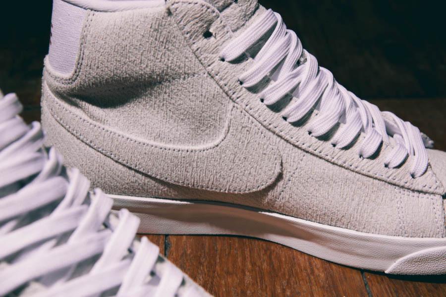 Nike Blazer Mid blanc cassé CJ6102-100 (3)