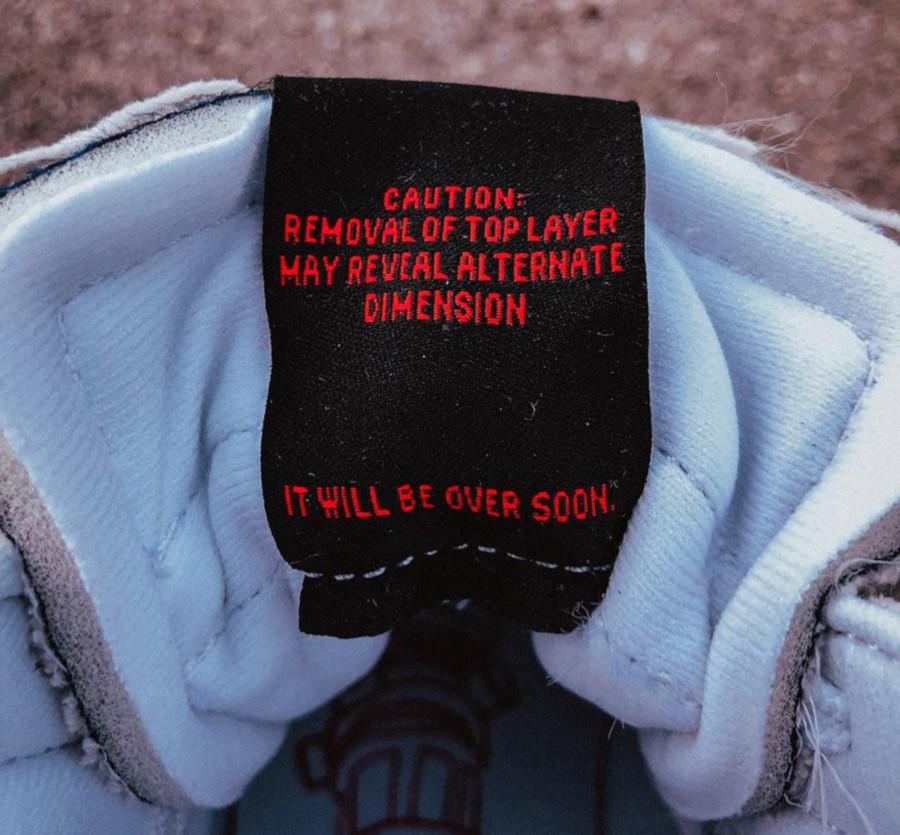 Nike Blazer Mid blanc cassé CJ6102-100 (4)