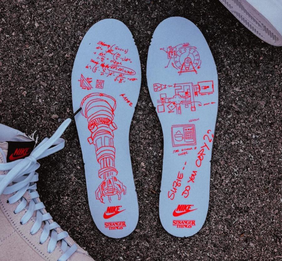 Nike Blazer Mid blanc cassé CJ6102-100 (5)