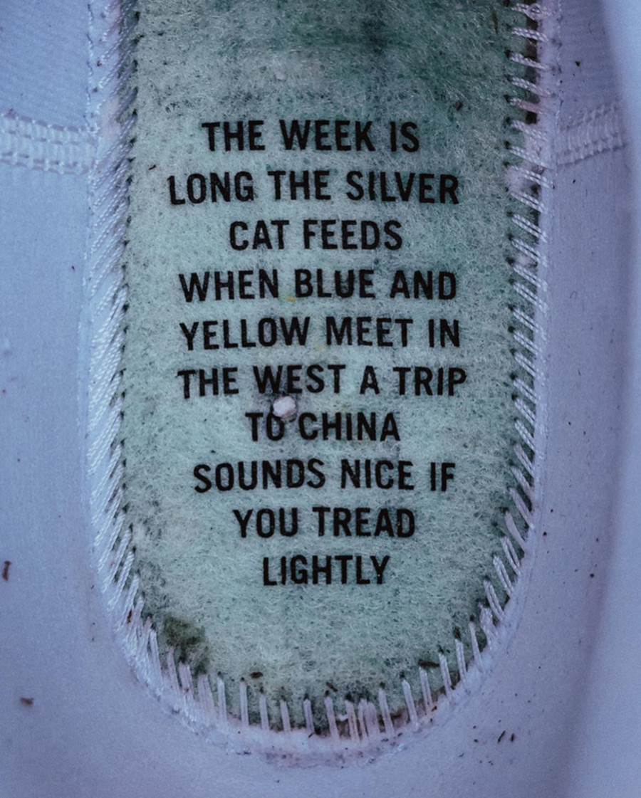 Nike Blazer Mid blanc cassé CJ6102-100 (6)