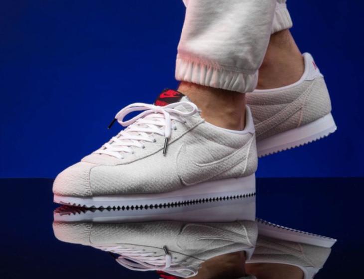 Nike Cortez blanc cassé CJ6107-100 (3)