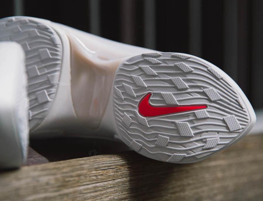Nike Dimension Six blanche rose et orange (3)