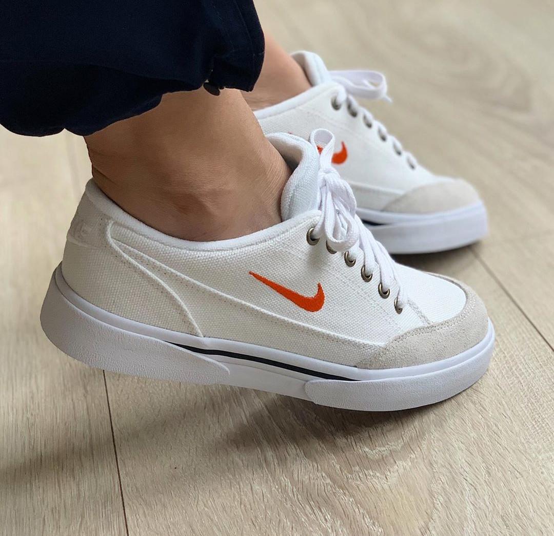 Nike GTS 16 TXT White Orange - @mayahening