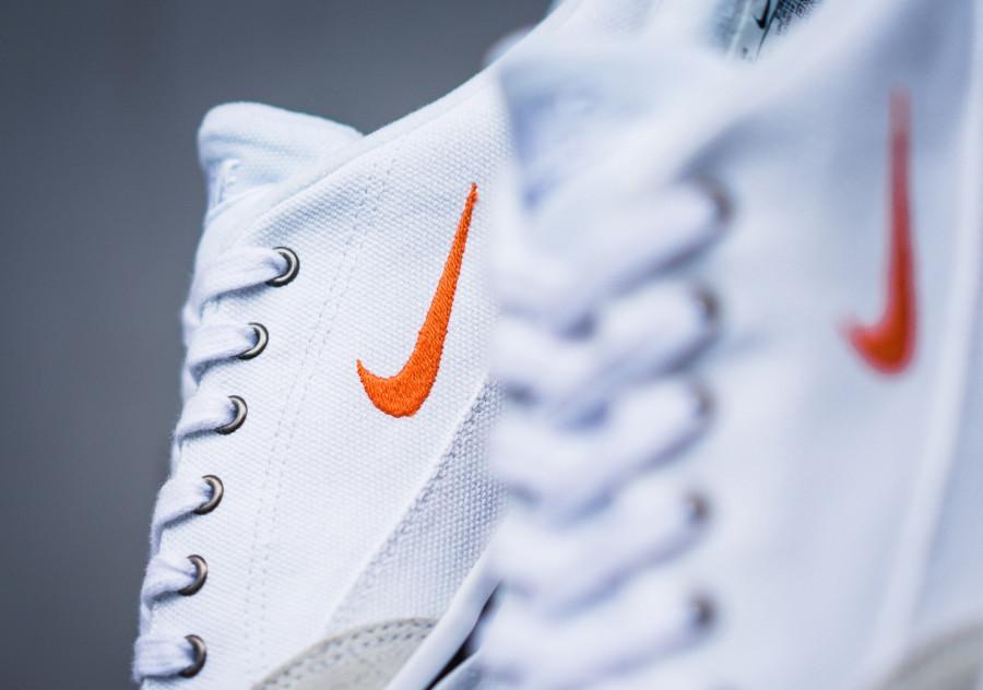 Nike GTS en toile blanche et suède crème (1)