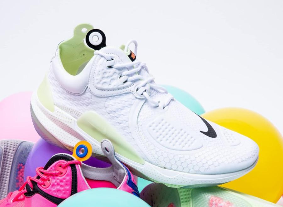 Nike Joyride CC3 Setter blanche et vert fluo AT6395-100 (1)