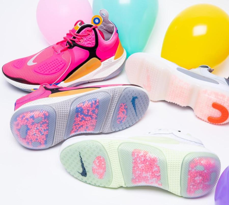 Nike Joyride NSW React CC3 Setter Volt & Pink (1)