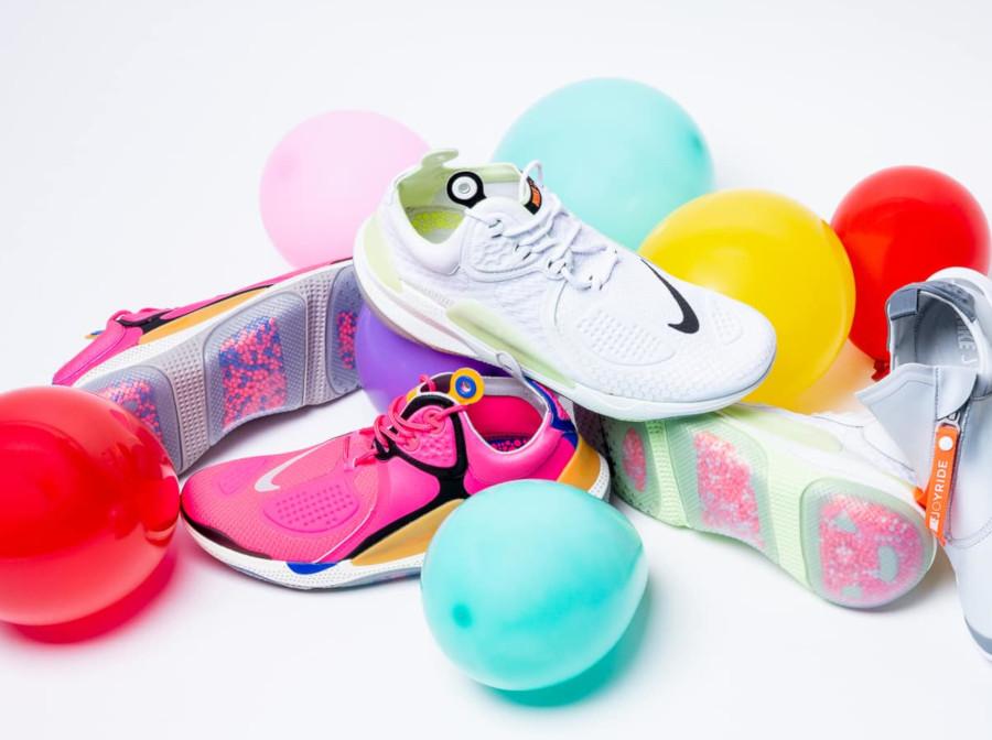 Nike Joyride NSW React CC3 Setter Volt & Pink
