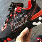 Nike React Element 55 'Script Swoosh Pack' Black Habanero Red