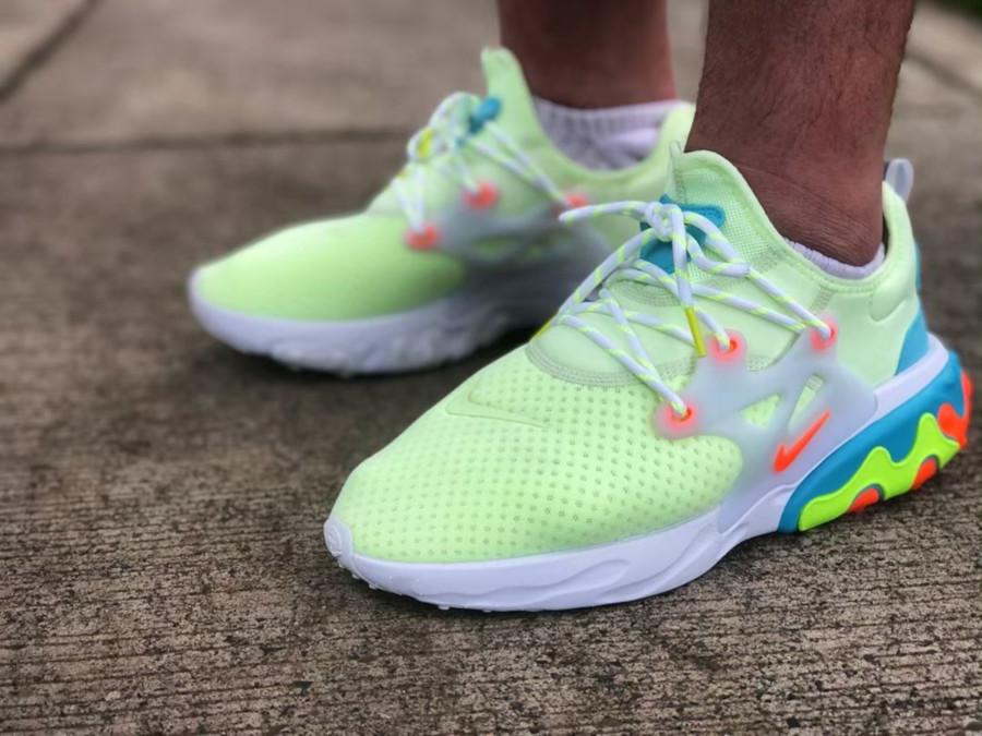 Nike React Presto Barely Volt - @prestology