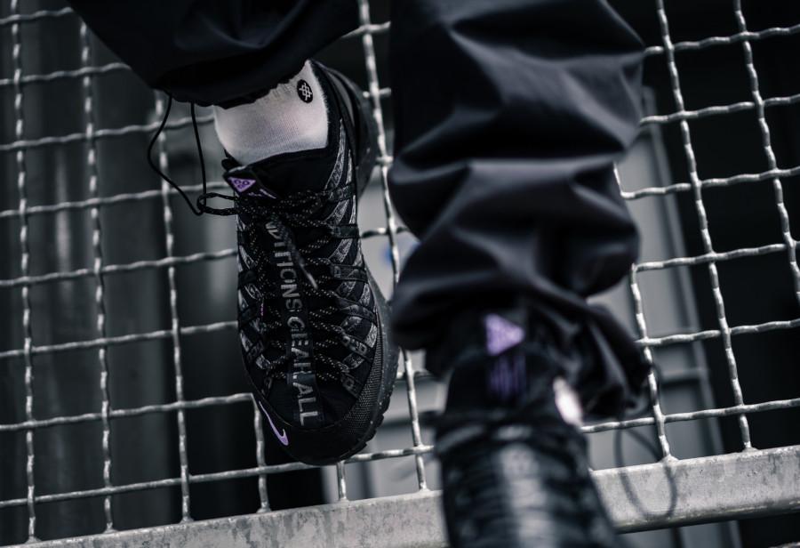 Nike React Terra Gobe noire grise et violet (3)