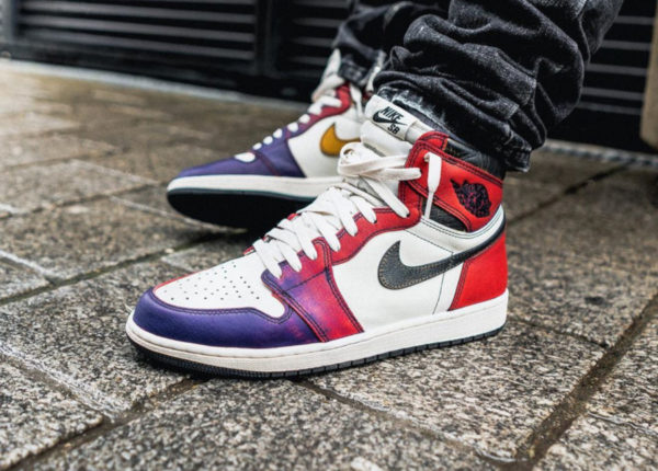 Nike SB Air Jordan 1 Defiant LA to Chicago CD6578-507