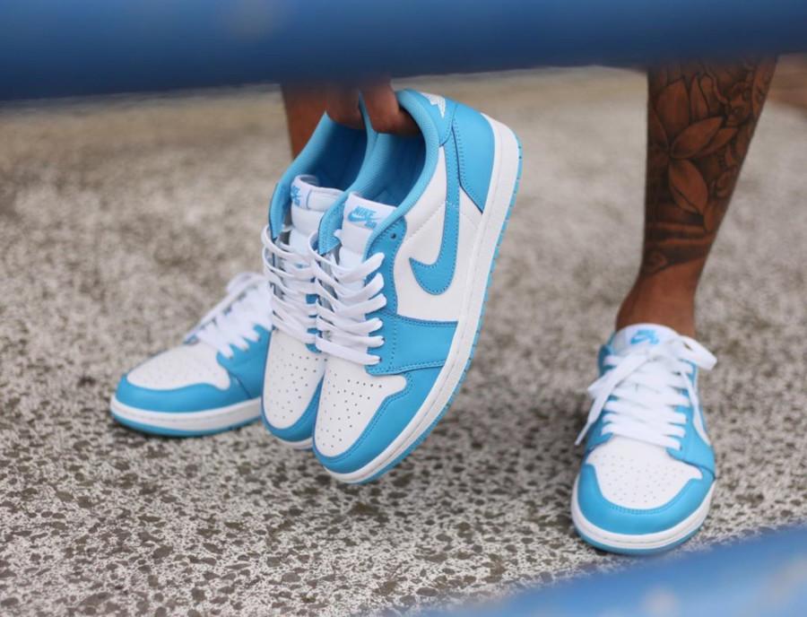 Nike SB Air Jordan 1 Low Koston UNC CJ7891-401 (1)
