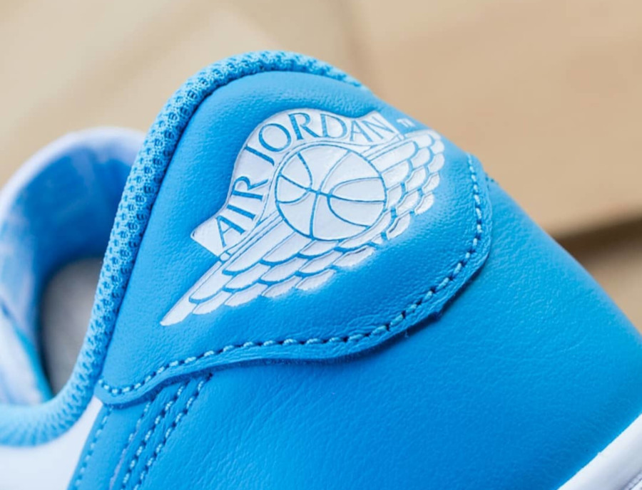 Nike SB x Air Jordan 1 Low blanche et bleu ciel (1)