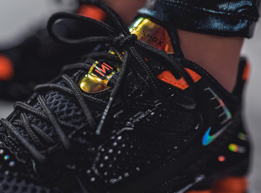 Nike Shox Enigma 9000 noire et orange CK2084 001 (1)