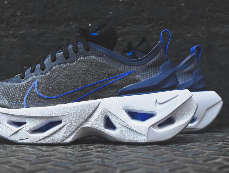 Nike Wmns Zoom X Vista Grind noire et bleue foncé (4)