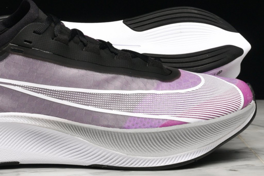 Nike Zoom Fly 3 noire violet grise et blanche (3)