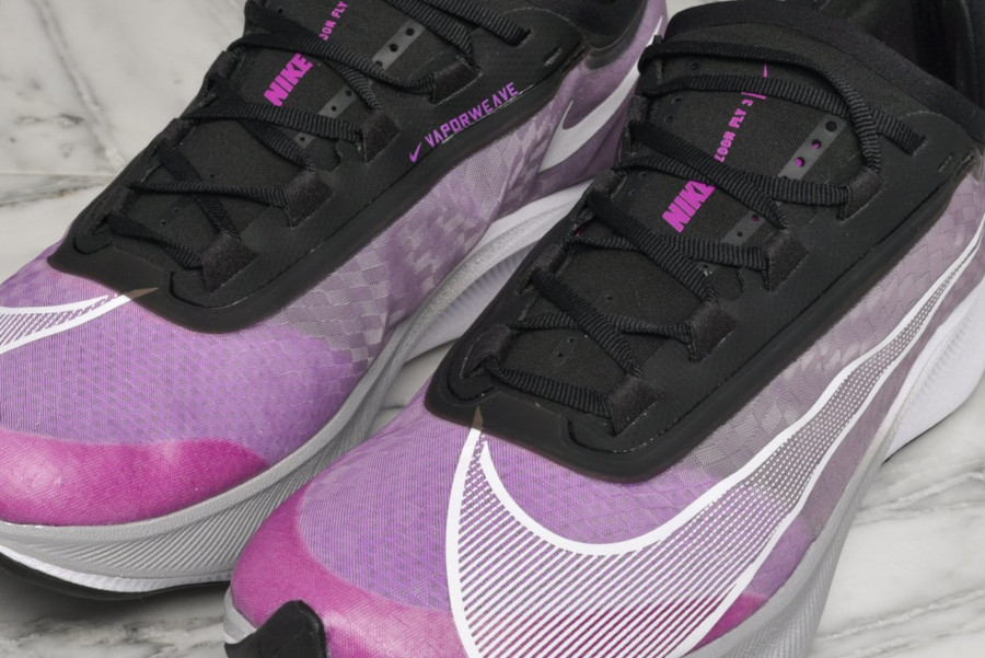 Nike Zoom Fly 3 noire violet grise et blanche (4)