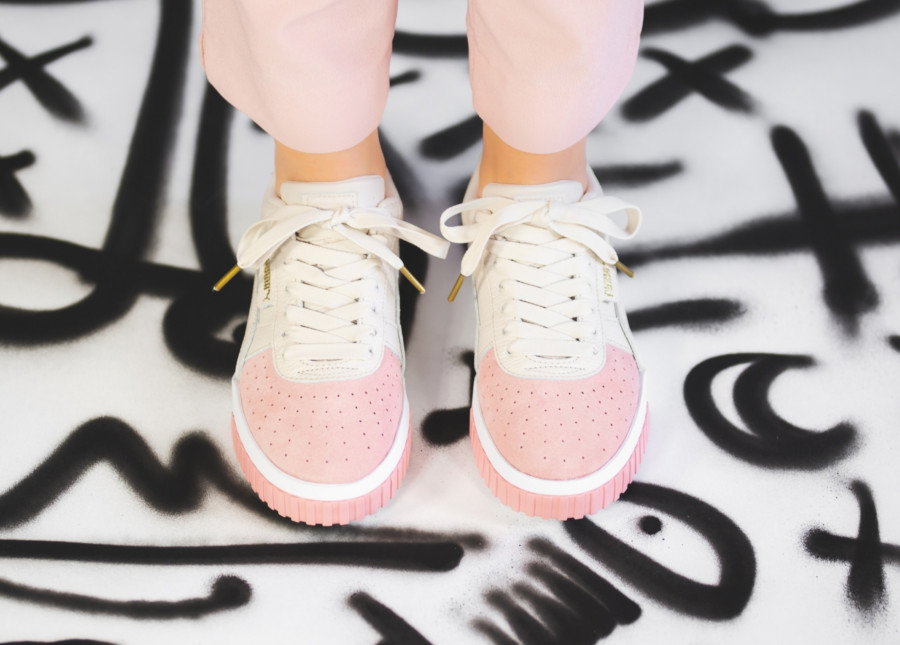Puma Cali Remix 2019 beige pink (2)