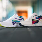 Reebok Pyro Mist Lime Purple & Chalk Navy Yellow