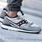 Bleu de Paname x Courir x Saucony Azura ST Grey Denim Red