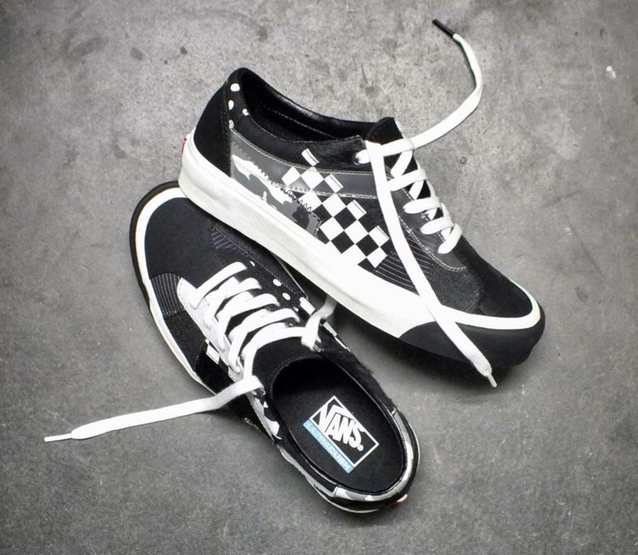 Vans Bold Ni noire et blanche (exclusivité Size) (1)