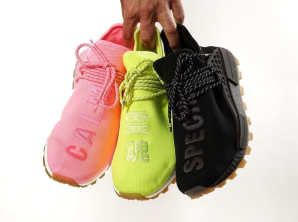 Adidas NMD HU Gum Pack Pharrell Now Is Her Time